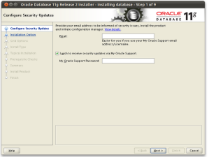 Installing Oracle 11g on Ubuntu – Oracle PL/SQL Technology blog